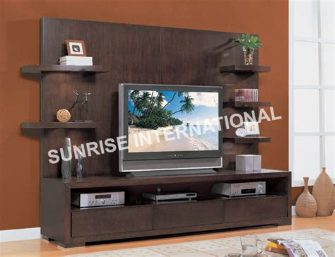 SUNRISE INTERNATIONAL   Wooden TV Cabinets & CD/DVD Racks