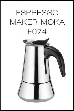 Espresso Coffee Teko Kopi Akebonno Moka Pot Elektik Stainless 8 Cup manual brewing wow pikopi