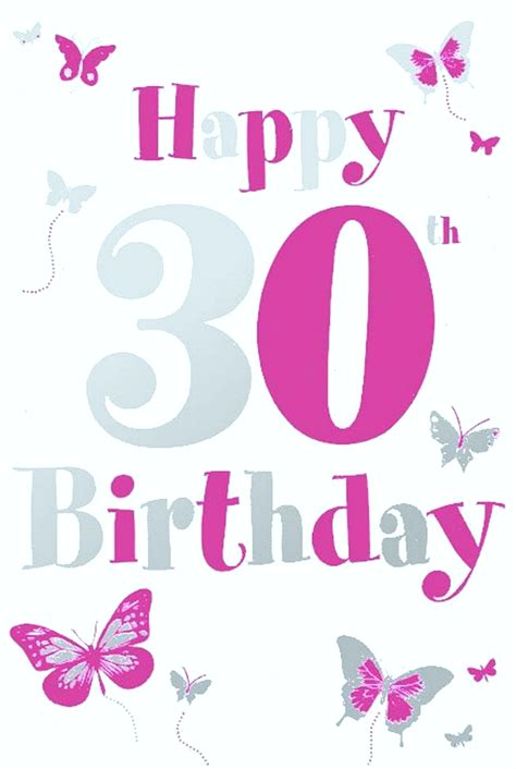 Happy Birthday Wishes 30 Sweet Happy 30th Birthday Quotes And Wishes Wishesgreeting