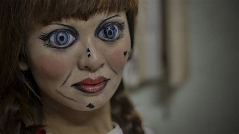 annabelle doll halloween makeup annabelle makeup 2 annabelle creation youtube