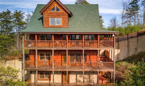pigeon forge tn cabin rentals images  pinterest mountain cabins smoky mountains