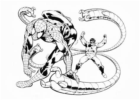 doctor octopus coloring pages free coloring pages and