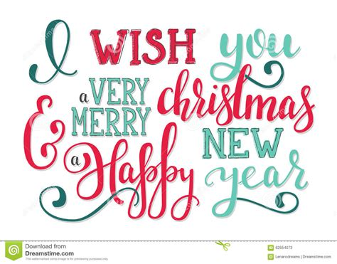 design your poster as you wish new year lettering wishes stock illustration