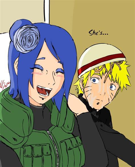 Naruto Hentrai - naruto and konan she s laughing by megadarkly on deviantart