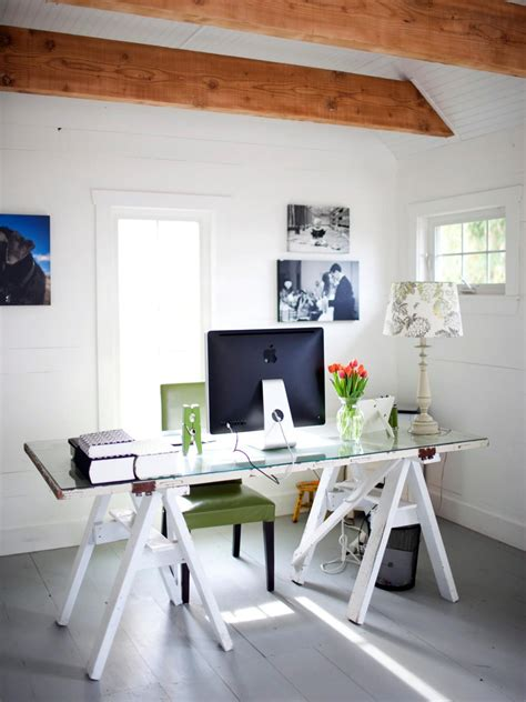 home office design styles hgtv clever uses for everyday items in the home office