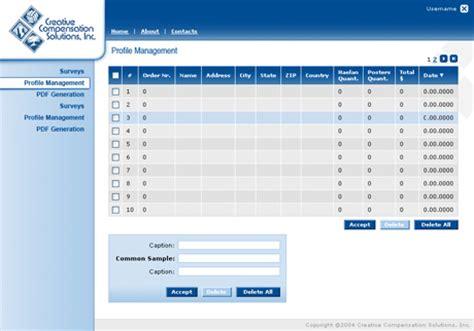 Online Survey Application - ideasplus web development company website web application web services