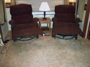 The Chair Trailer by 400 Flexsteel Rv Recliners Set Of 2 For Sale For Sale In Colorado Springs Colorado Classified