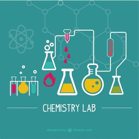 idea design bg wetenschappelijk laboratorium illustratie vector gratis