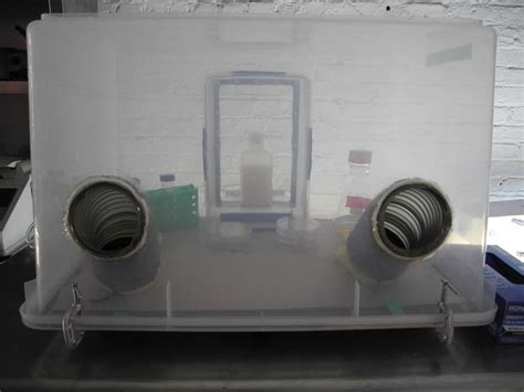 diy clean room diy anaerobic chamber aka glove box
