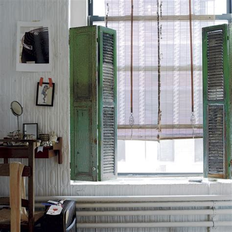shabby chic shutters stylist sibella court s bohemia chic apartment tour housetohome co uk