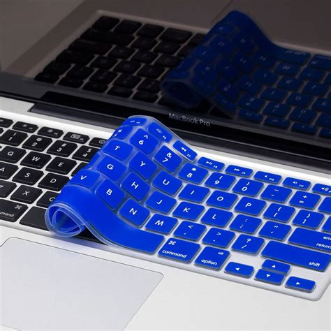 color keyboard protector for macbook 11 blue original100 2 solid color silicone keyboard cover protector skin for