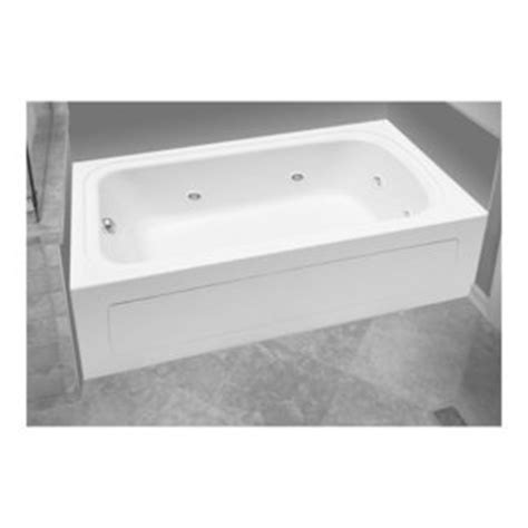 ferguson bathtubs pfw6032arskwh 60 x 32 whirlpool bath white at shop