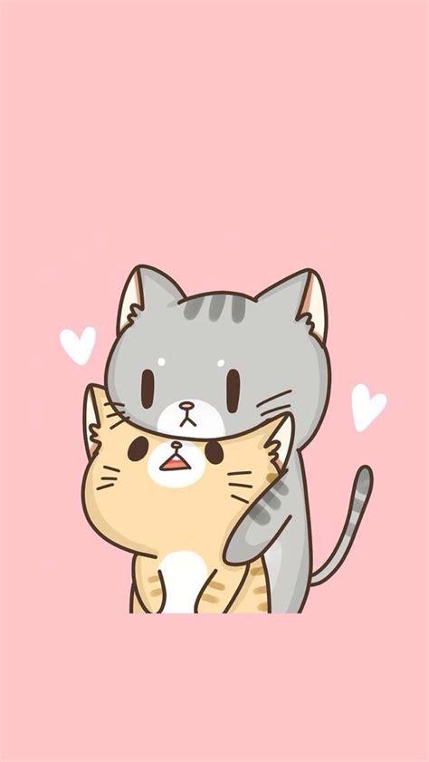 cute cats  love phone wallpapers pinterest cat