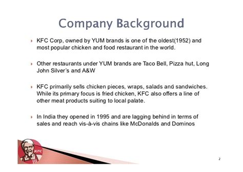 kentucky fried chicken india strategy