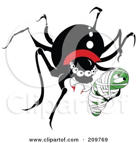 happy black widow spider cartoon clipart of a happy black widow spider an