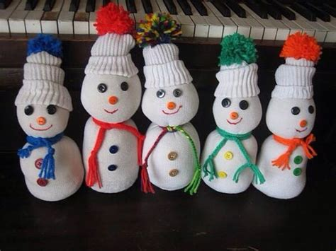 sock snowman filling sock snowmen made from socks and filled with rice