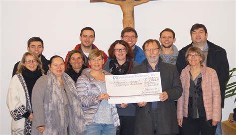 sparda bank waiblingen steinbacher dorfgemeinschaft spendet hospizstiftung rems