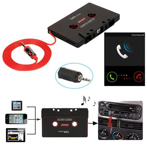 Android Ipod by Audio Aux Car Cassette Adapter Converter 3 5mm For