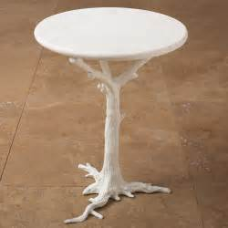 White Side Tables White Side Table Eclectic Side Tables And End Tables By Inside Avenue