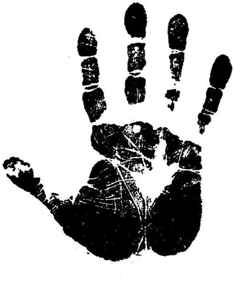 black hand hand print for multicultural brook job reference