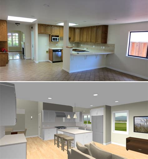 Kitchen Family Room Layout by It S Kind Of Like Property Brothers Mcnubbin
