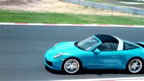 miami blue porsche targa porsche 911 targa 4s miami blue driving video