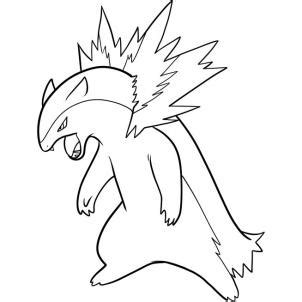 pokemon coloring pages typhlosion how to draw typhlosion pokemon step by step pokemon