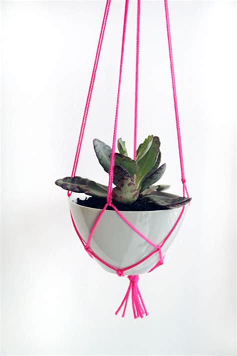 Diy Rope Hanging Planter - top five hanging plant pots home design and interior