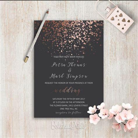 Hochzeitseinladung Einfach by Elegante Hochzeitseinladungen Dass Einfache Hochzeit