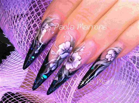 micropittura fiori nail fiori paolamarrone it nail artist