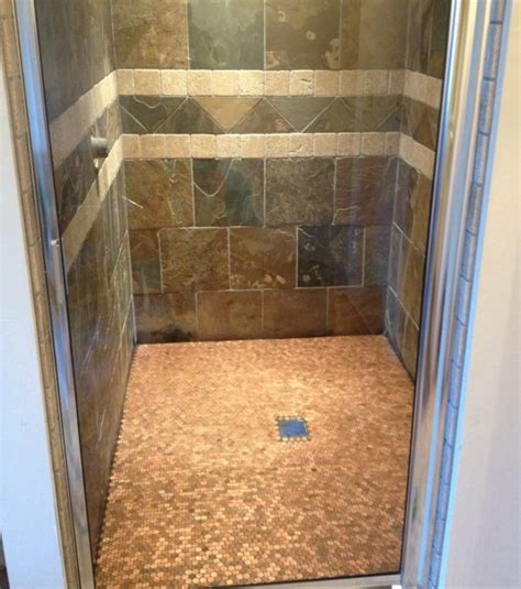 bathroom floor pennies 11 best penny flooring posts projects and ideas home