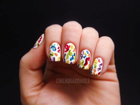 lovely nail designs   kids birthday party pretty designs