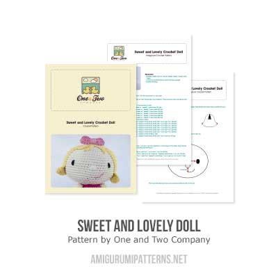 doll emporium pattern company sweet and lovely doll amigurumi pattern