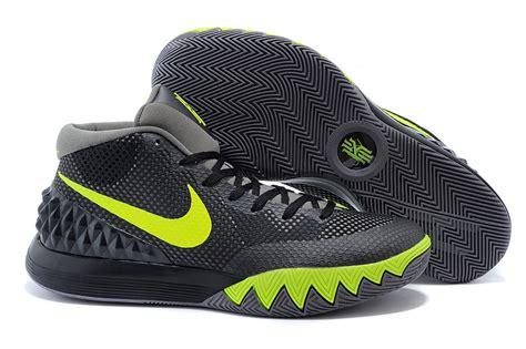 nike basketball shoes sale nike kyrie irving 1 black grey green basketball shoes