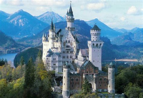 place deutschland neuschwanstein castle a historical popular place in