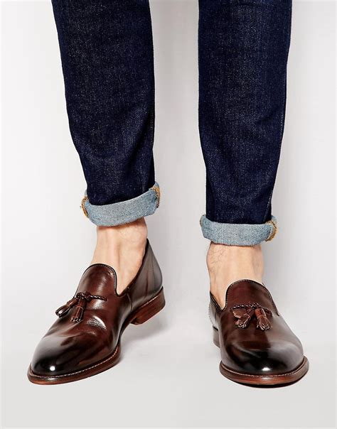 ben sherman loafers ben sherman ben sherman tassel loafers at asos