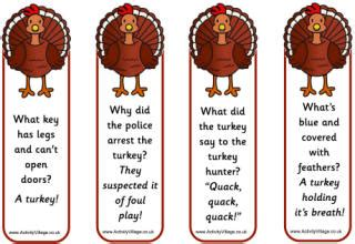 printable joke bookmarks 8 best images of printable thanksgiving bookmarks with