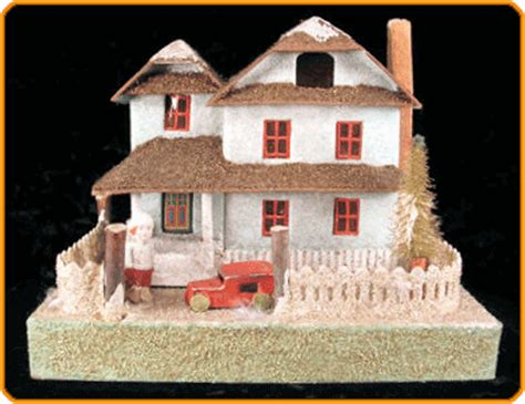 putz houses heroes heroines and history a charming christmas tradition the moravian putz and