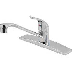 Pfister Kitchen Faucet Repair Price Pfister G134 5000 Pfirst Series Polished Chrome