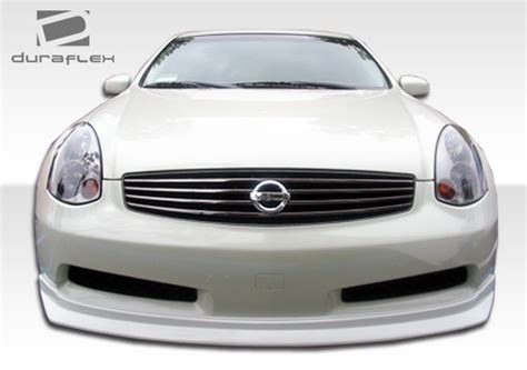 infiniti g35 front lip infiniti g35 2dr d spec style front lip 03 04 05 06 07 by