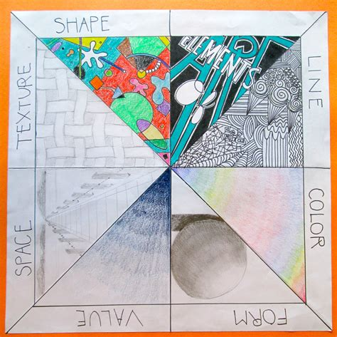 design art terms elements of art review project for the beginning of a