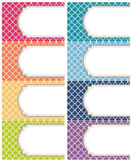 printable label sizes free editable quatrefoil labels eid gift tags and classroom