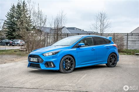 Ford Focus RS 2015   1 avril 2016   Autogespot