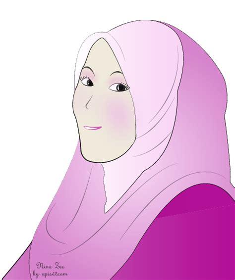 free doodle muslimah doodle muslimah untuk zee apis