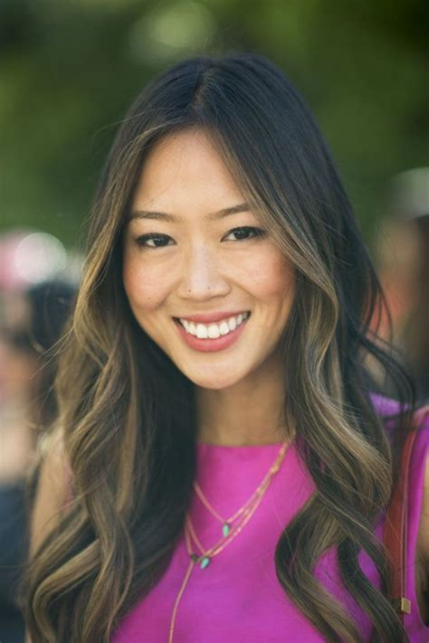 aimee song long bob highlights exclusive see the best beauty street style from new york