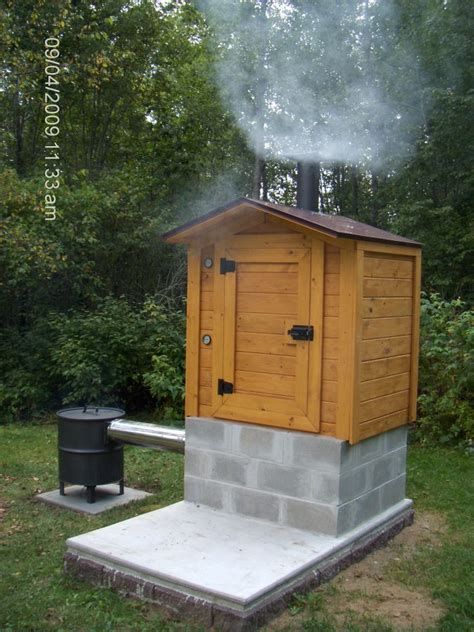 build your own backyard smoker smokehouse building plans find house plans