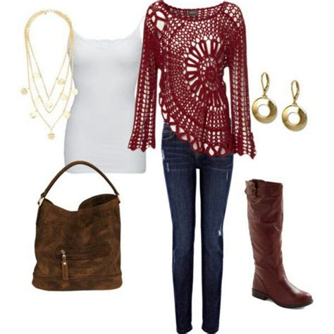 35 best images about cute outfits on pinterest rompers blusa roja tejida crochet pinterest beautiful and tops