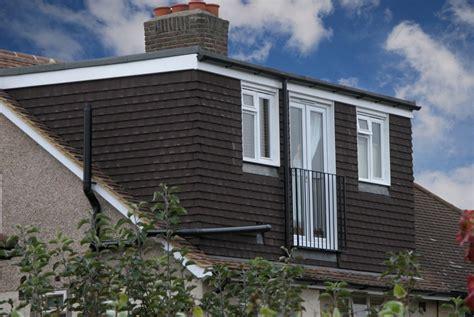 Rear Dormer Extension Rear Dormer Loft Conversion With Black Tiles South