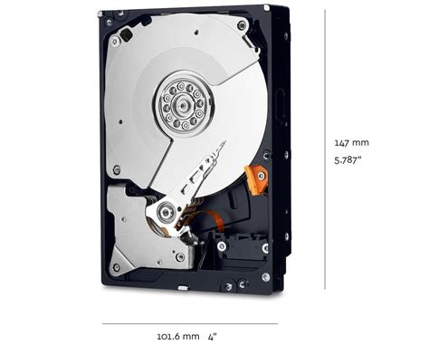 Wdc Purple 6tb 64mb Sata3 7200 Rpm For Cctv Wd60purx wd wd1003fzex 1tb black 3 5 7200rpm sata3 drive