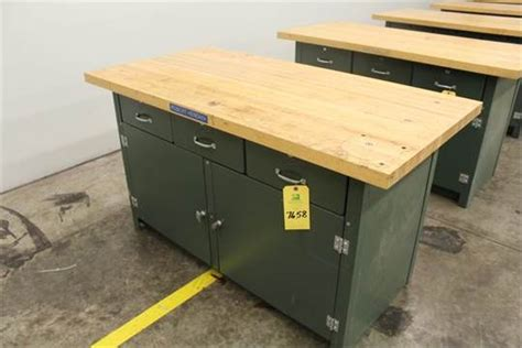 machine shop work bench maple top work bench 30 quot x 60 quot x 1 3 4 quot cp2 machine shop